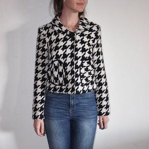 Coco and Chase /Nordstrom Houndstooth Swing Jacket